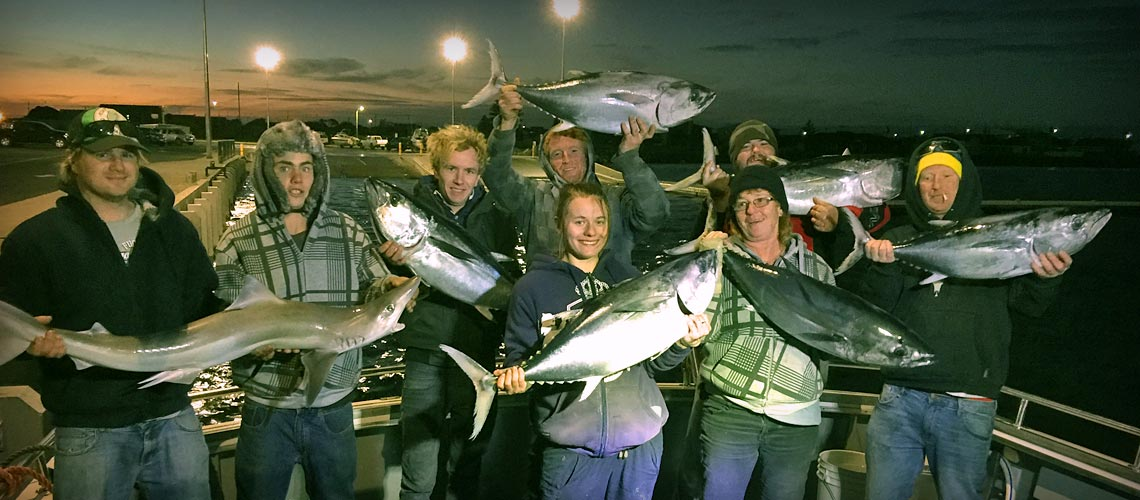 Shark fishing with Port MacDonnell Fishing Charters